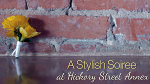 A Stylish Soiree at Hickory Street Annex {Behind the Scenes with Brides of North Texas}